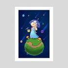 Starbit Shower - Art Print by Kristen George