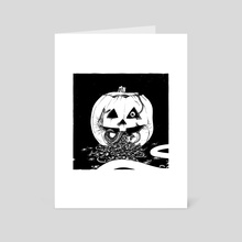 Halloween 3: Season of the Witch - Art Card by SPH horror