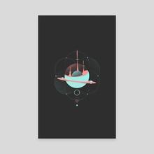 Synchronize - Canvas by Evan Luza