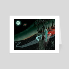 The Hill Abduction - Art Card by Lily Padula