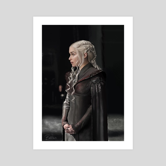 Khaleesi - Daenerys Targaryen by Batirtze Abuin