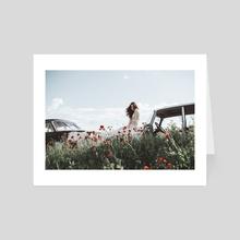 Poppy - Art Card by Jovana Rikalo