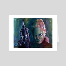 Intimidation - Art Card by Tyler Chapple