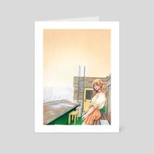 Rooftop - Art Card by HonHon