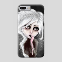 too dark to be sure - Phone Case by Rouble Rust