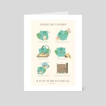 Bulbasaur's Guide to Gastronomy - Art Card by Daria Rhodes
