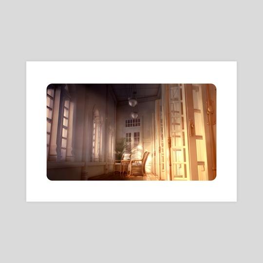 Hallway by Philippe Poirier