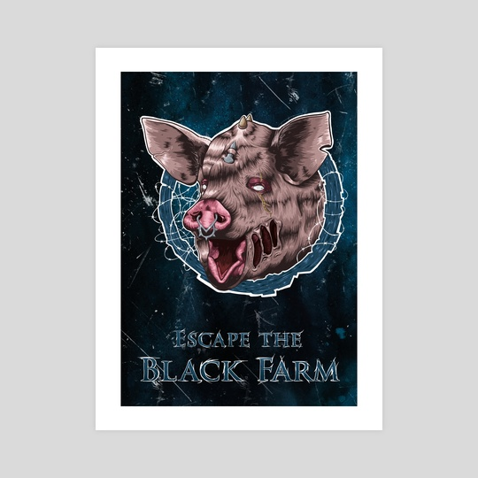 Escape the Black Farm by Jörn Meyer