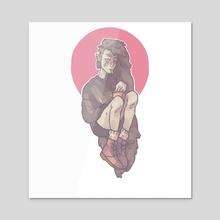 Marceline - Acrylic by Jim Mckee