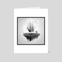 Flying Boat - Art Card by Stephane Ducarrouge