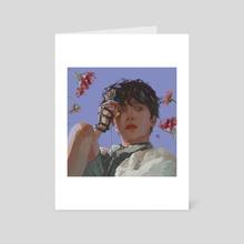 emo boi jhs - Art Card by Monsieur Eon