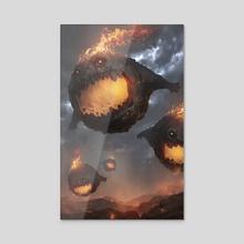 FFB - Bomb - Acrylic by Jesse Keisala
