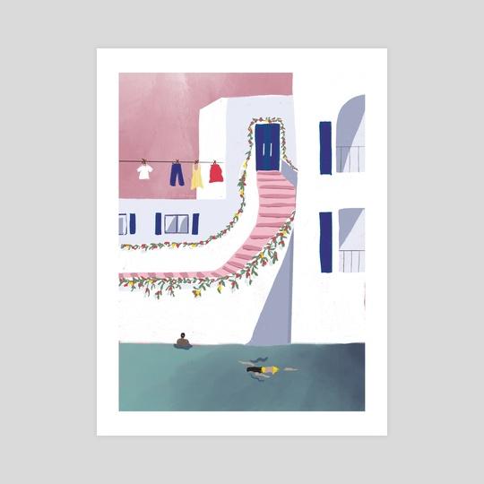 Mykonos by Zoe Tischner