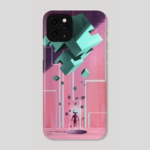 The Cube - Phone Case by Vincent Belbari