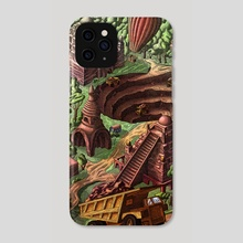 Ancient disaster  - Phone Case by Pop Mircea