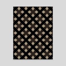 Marker Pattern  - Canvas by Lauren Scott