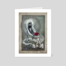 Robot Genie  - Art Card by David  Eikeland