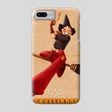 Vintage Red Wizard - Phone Case by Savannah Alexandra