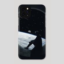 Leaving Earth - Phone Case by Gerro