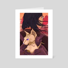 Jinxed - Art Card by Michelle Kondrich