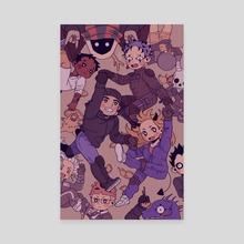 Dorohedoro! - Canvas by Bree Sullivan