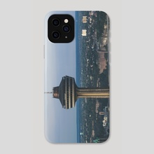 Bullet to the Top - Phone Case by Alex Tonetti