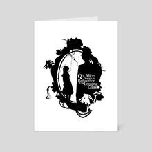 Oh Alice - Dark  - Art Card by Sunny Ray