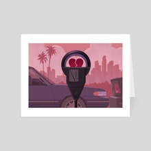 Love Meter - Art Card by Cam Cottrill