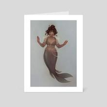 siren - Art Card by Lois van Baarle