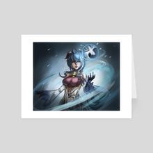 Ganyu - Art Card by HamzterHero