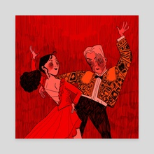 Strictly Ballroom - Canvas by Emily Malone