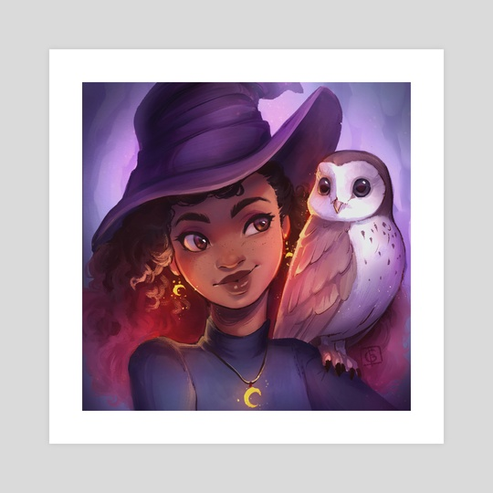 Moon Owl Magic by Christina Barton