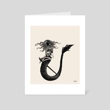 Mermaid - Art Card by beezle