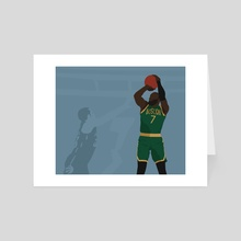 CELTICS - Art Card by Chase Higgins