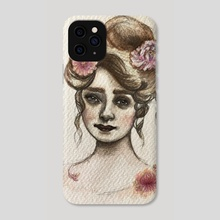 Chrysanthemum - Phone Case by Sarah Mary Studio