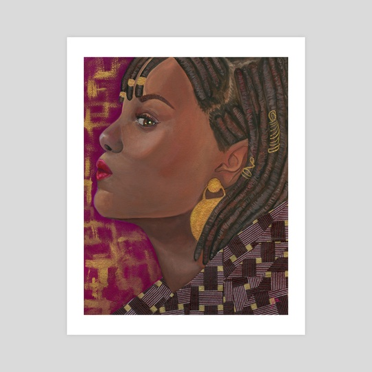 Portraits of Black Women I Have Yet to Name: VII by the monarq