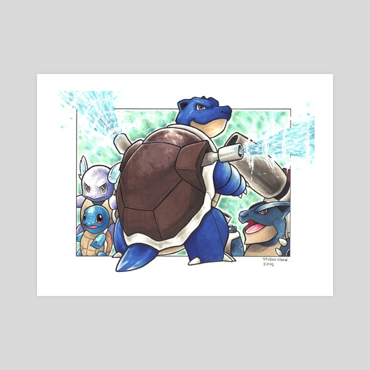 Blastoise  by Odin