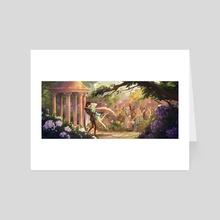 Romeo & Julian - Wedding - Art Card by Jenna Mueller