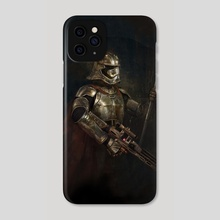 Star Wars, Phasma - Phone Case by Joe Roberts