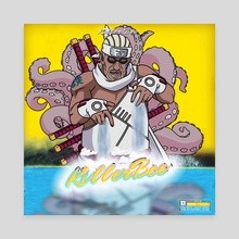 """Killer Bee """"Squidtastic"""" - Canvas by Joey Sifuentes"""