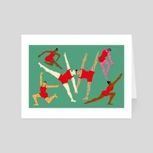 Pam Tanowitz - Art Card by Subin Yang