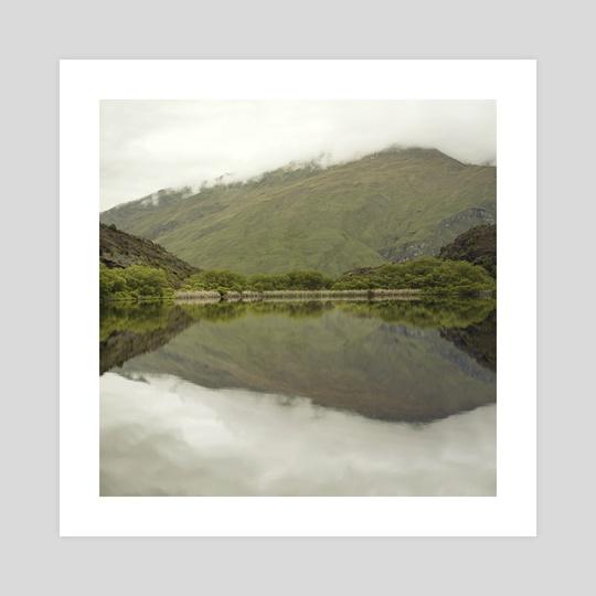 Reflections from Diamond Lake by josemanuelerre