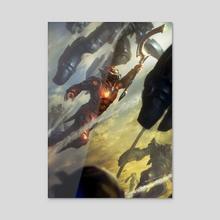 Red Rising - Iron Gold (Darrow) - Acrylic by Sam Burley