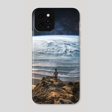 Edge Of The Earth - Phone Case by Justin Peters