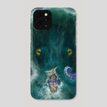What Lurks Beneath - Phone Case by Priscilla Kim