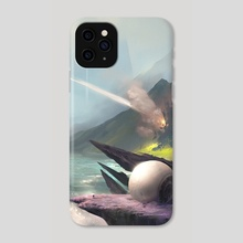 Fugitive - Monolith:Nexus - Phone Case by J A D