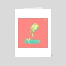 Honey Dew - Art Card by Teri Sky