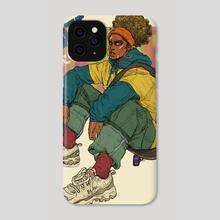 SKATE KITCHEN  - Phone Case by Cedric Joseph