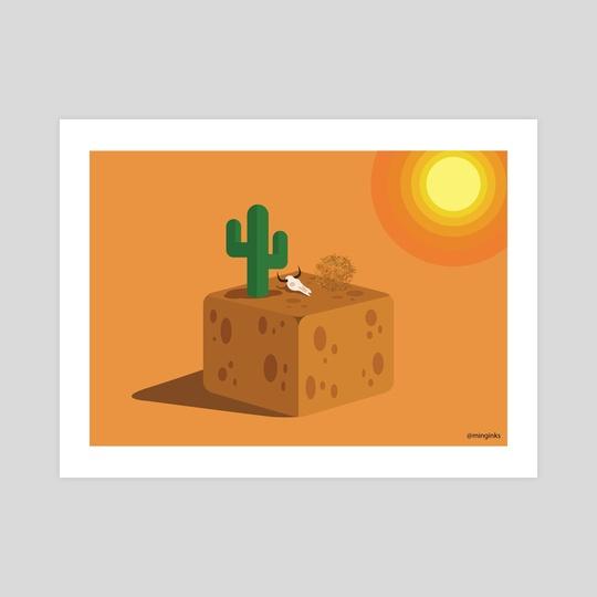 Desert Block by Jia Ming Lwee