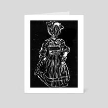 Bloomhead; Tulia Tulip  - Art Card by Sovadea Marie